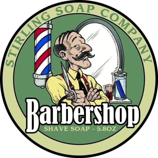 Barbershop shave soap