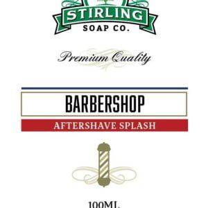 barbershop after shave splash