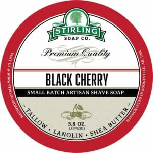 Black Cherry shave soap