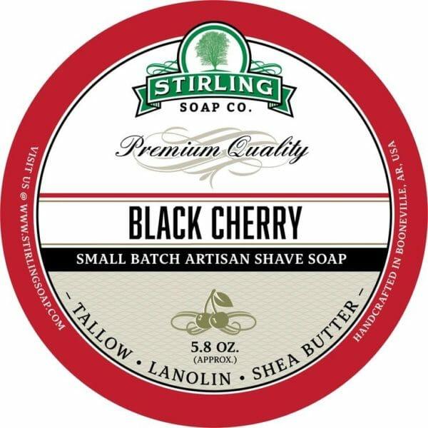 Black Cherry shave soap