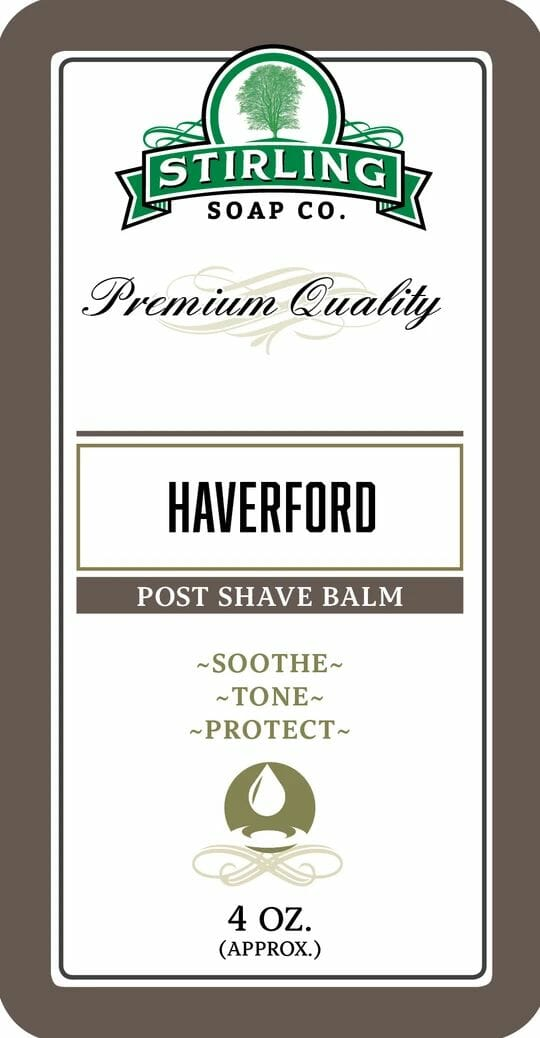 Haverford Post Shave Balm