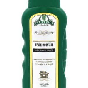 ozark mountain liquid body soap
