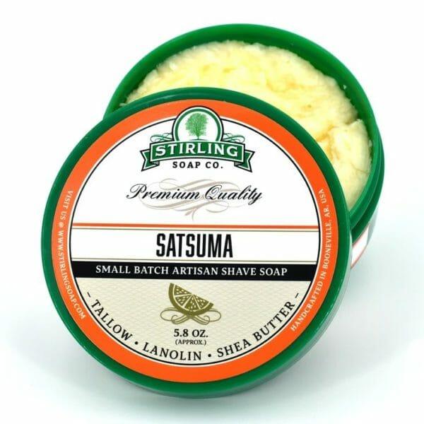 Satsuma shave soap