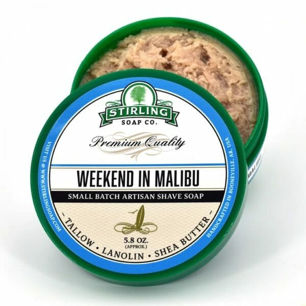 Weekend in Malibu shave soap