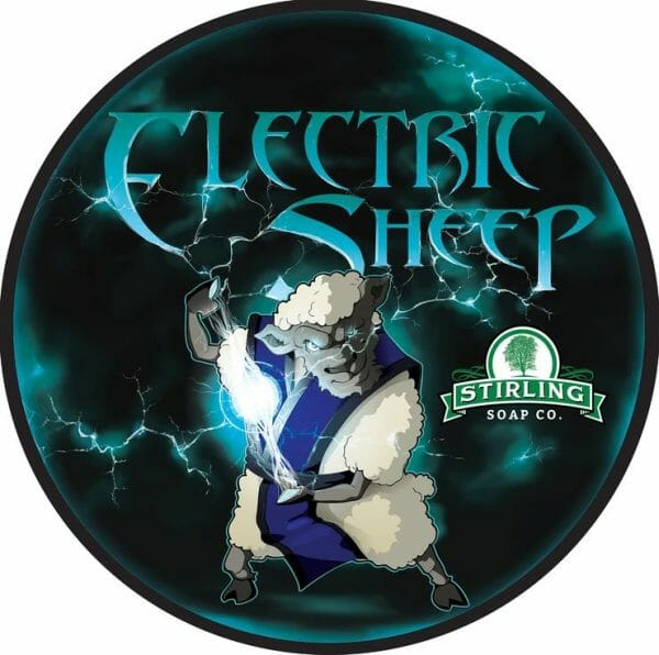 Electric Sheep Shaving Soap