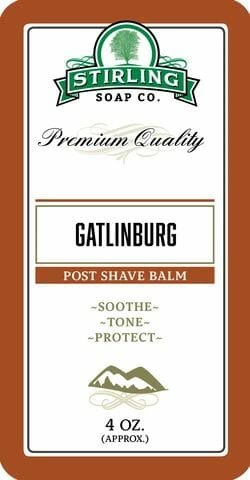 Gatlinburg Post Shave Balm