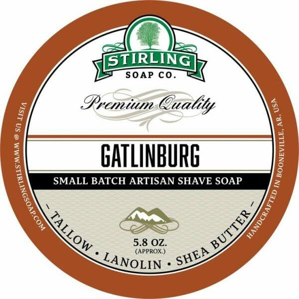 Gatlinburg Shaving Soap