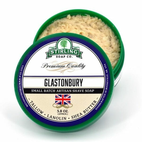 Glastonbury Shaving Soap