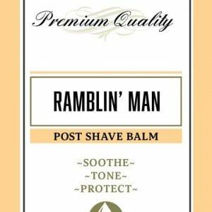 Ramblin' Man Post Shave Balm