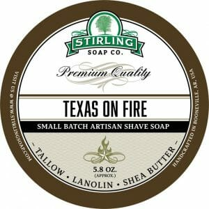 Texas on Fire Shaving Soap