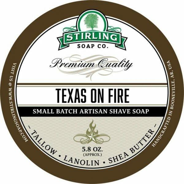 Texas on Fire Shaving Soap