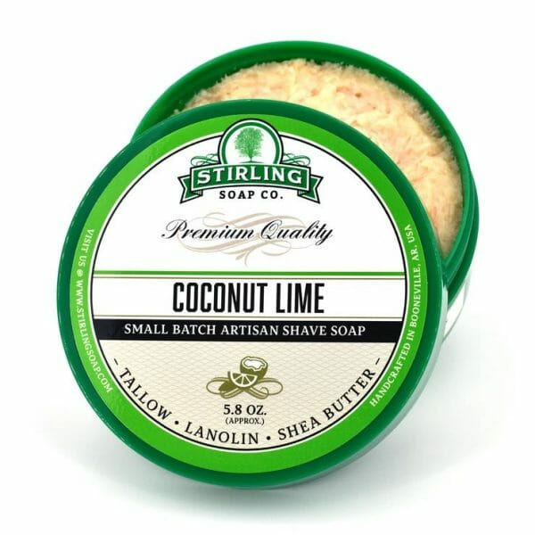 Coconut Lime Shaving Soap