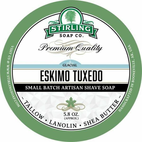 Eskimo Tuxedo Shaving Soap