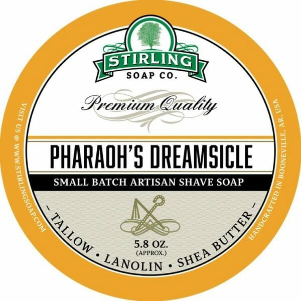 Pharaoh's Dreamsicle Shaving Soap