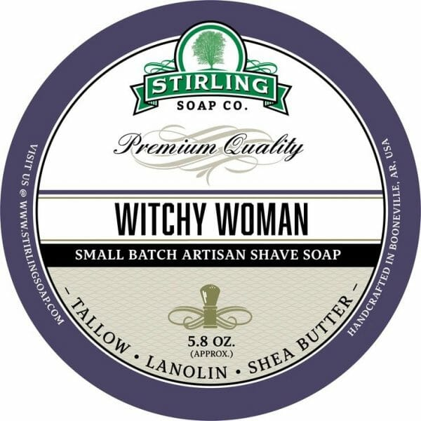 Witch Woman Shaving Soap