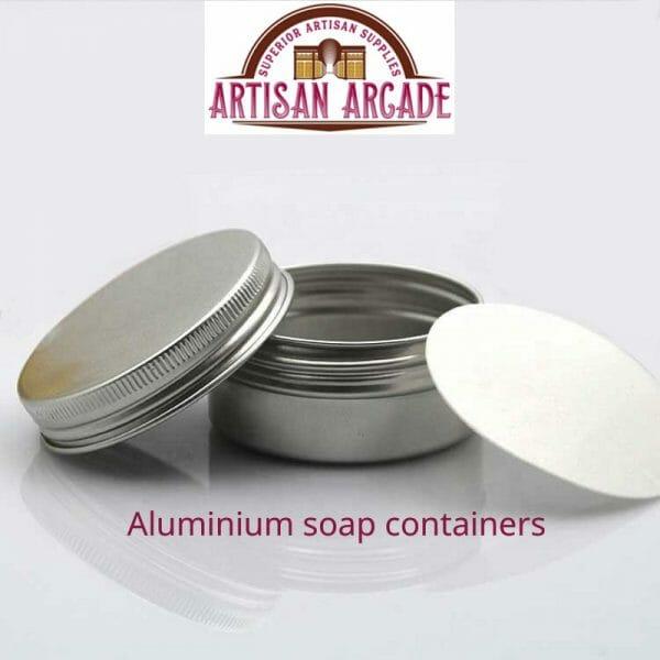 Aluminium soap containers