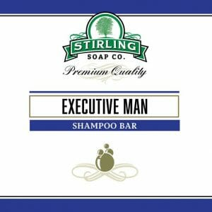 Executive Man Shampoo Bar