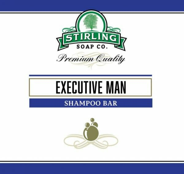 Executive Man Shampoo Bar