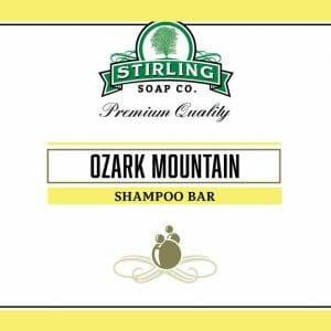 Ozark Mountain Shampoo Bar