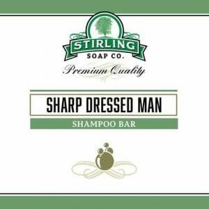 Sharp Dressed Man Shampoo Bar