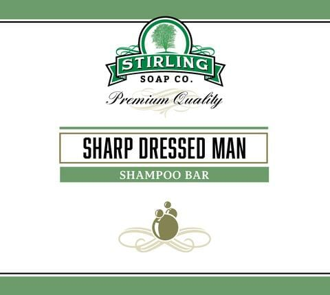 Sharp Dressed Man Shampoo Bar