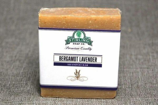 Bergamot Lavender Shampoo Bar