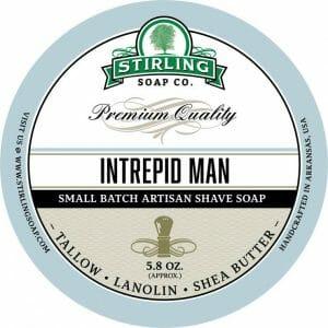 Intrepid Man Shaving Soap