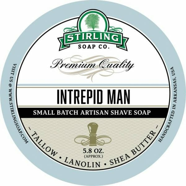 Intrepid Man Shaving Soap