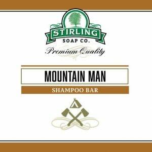 Mountain Man Shampoo Bar