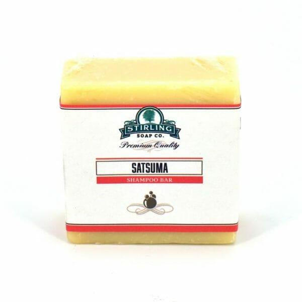 Satsuma Shampoo Bar