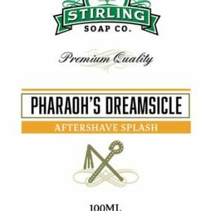 Pharaoh's Dreamsicle Aftershave Splash