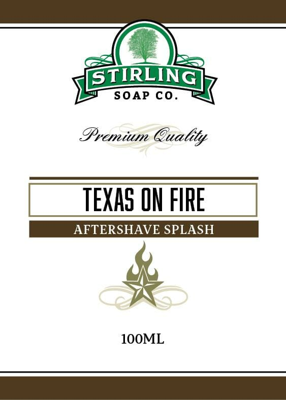 Texas on Fire Aftershave Splash