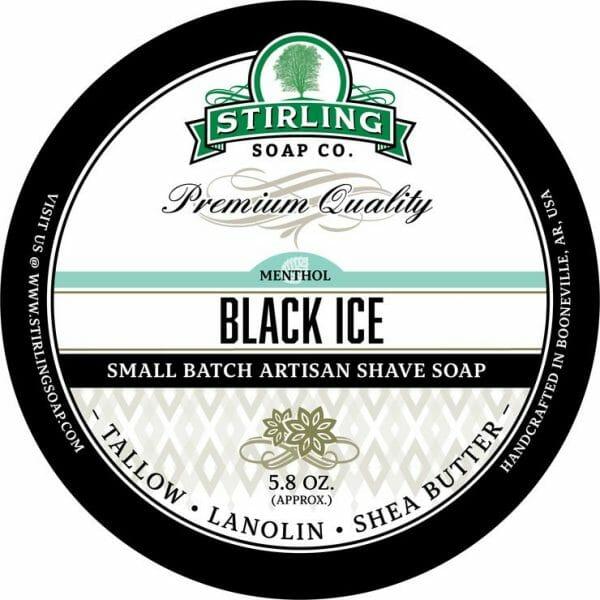 Black Ice Shaving Soap