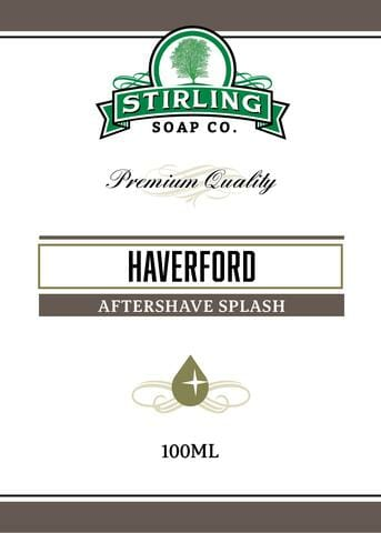 Haverford Aftershave Splash