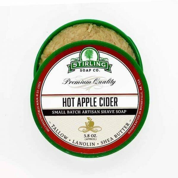 Hot Apple Cider Shaving Soap