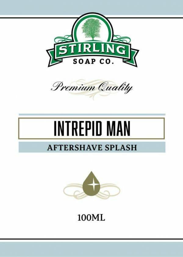 Intrepid Man Aftershave Splash