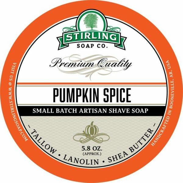 Pumpkin Spice Shaving Soap