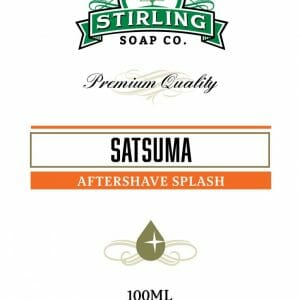 Satsuma Aftershave Splash