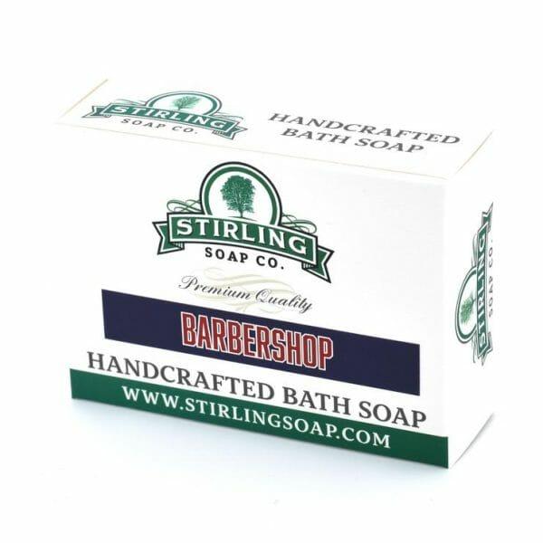 Barbershop bar soap