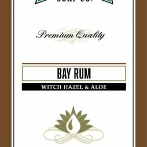 Bay Rum Witch Hazel & Aloe