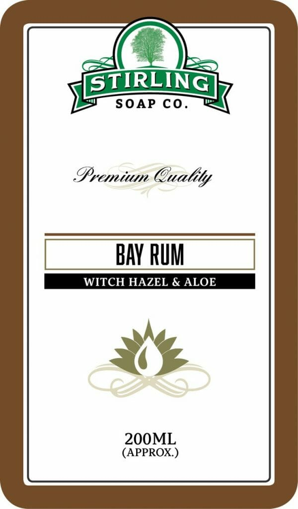 Bay Rum Witch Hazel & Aloe