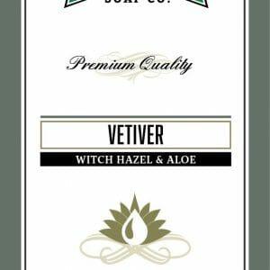 Vetiver Witch Hazel & Aloe