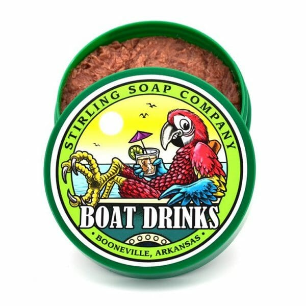 Image of Boat Drinks shave soap