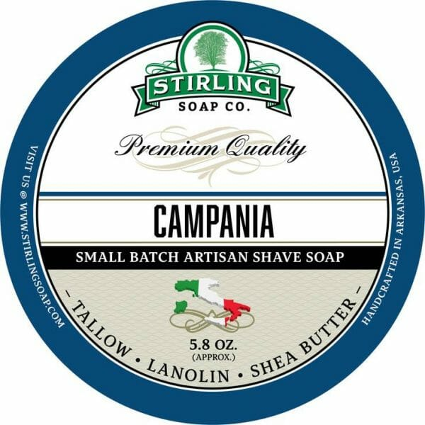 Image of Campania shave soap