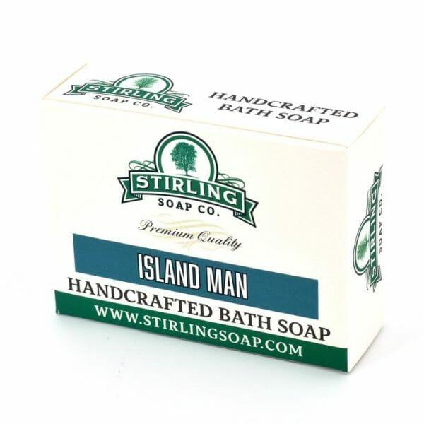 image of island man bar soap