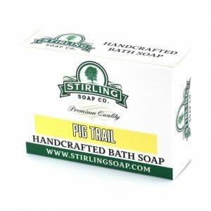 Image of pig trail bath soap