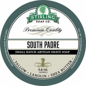 Image of South Padre shave soap