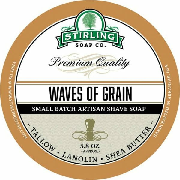 Image of Waves of Grain shave soap