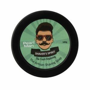 Shaver's Spirit soap