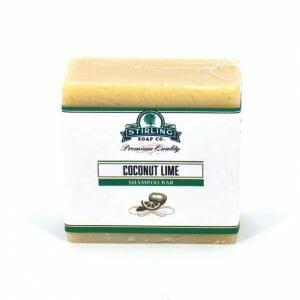 Coconut Lime shampoo bar image